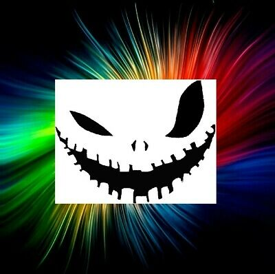 HALLOWEEN PUMPKIN AIRBRUSH, PAINTING TEMPLATE STENCIL AND