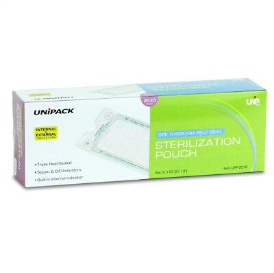 Unipack Selfsealing Sterilization Pouches Windicators All Sizes Dental Tattoo