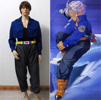 Dragon Ball Z Trunks Super Saiyan Torankusu Cosplay Costume Custom - Dragon Ball Z Trunks Costume