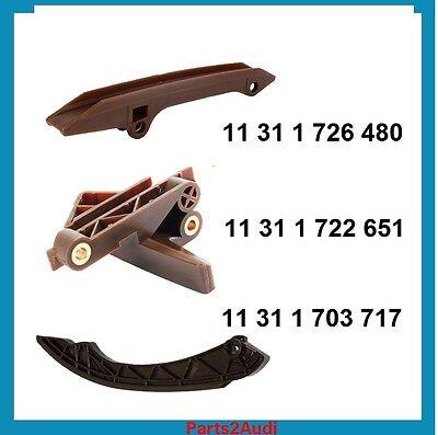 BMW Engine Timing Chain Guide Rail Kit Set 3pcs For BMW 323i 325i 530 X5 E39 E53 ()