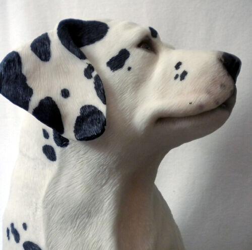 "Large Vintage Living Stone ""Dalmation"" Puppy Dog Sculpture/Figurine"