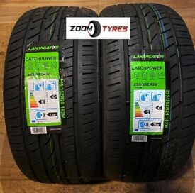 2 X 255 35 20 TYRES LANVIGATOR CatchPower 102W XL EXTRA LOAD IDEAL FOR VAN ALLOYS 102W