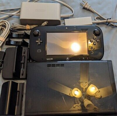 Nintendo Wii U 32GB Console + Gamepad Complete Same Day Ship