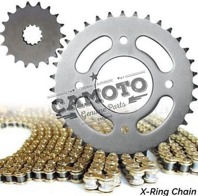 GOLD XRING CHAIN AND SPROCKET KIT <em>YAMAHA</em> XJ600 S DIVERSION 4DG 95 03