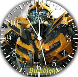 Transformers Bumblebee Frameless Borderless Wall Clock Nice Gifts or Decor Y14