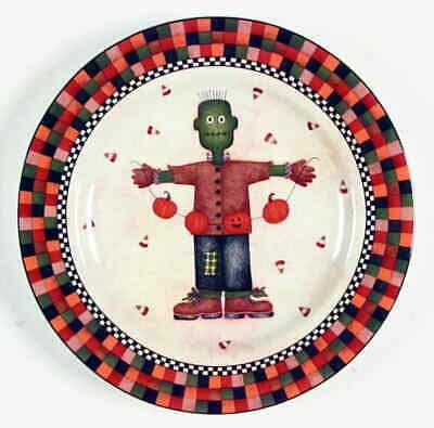 Sakura HALLOWEEN Frankenstein Salad Plate 5532253 (Halloween Plate)