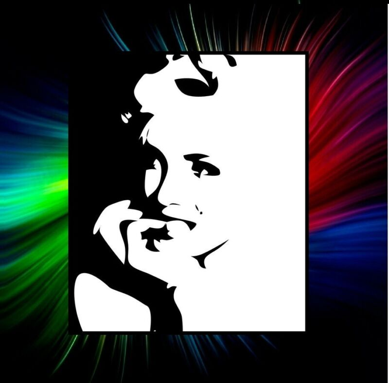 MARILYN MONROE 3 PCS SILHOUETTE STENCIL, AIRBRUSH, PAINTING TEMPLATE
