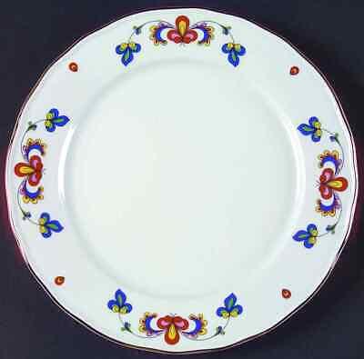Porsgrund FARMERS ROSE (GOLD TRIM) Dinner Plate 6971897