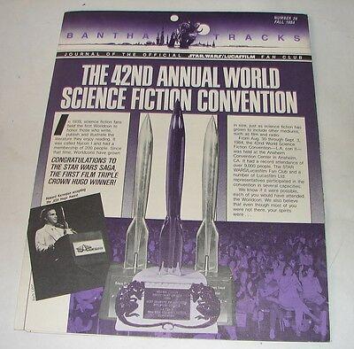 Star Wars Bantha tracks #26 fan club magazine vintage vintage era fanzine 1984