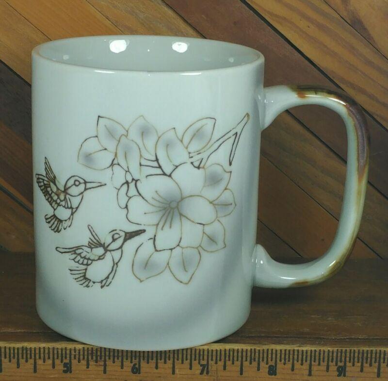 Vintage Hummingbird Coffee Mug Tea Cup
