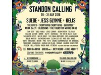 STANDON CALLING WEEKEND TICKETS + Thursday early opening