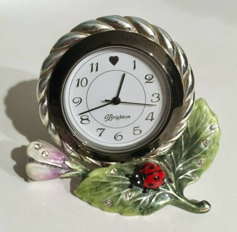 Collectible Mini Marvels Clock by Brighton - NEW BATTERY INCLUDED!