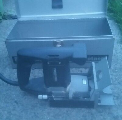 (PORTER -CABLE MODEL 555 PLATE JOINTER/BISCUIT JOINER>EXCELLENT CONDITION)