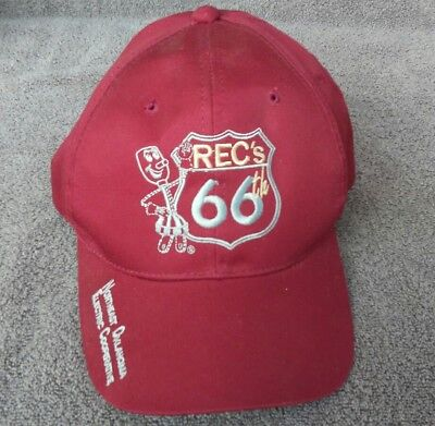 Recs 66th Logo Hat Cap Snapback Northeast OK Electric Co Op Vinita Oklahoma