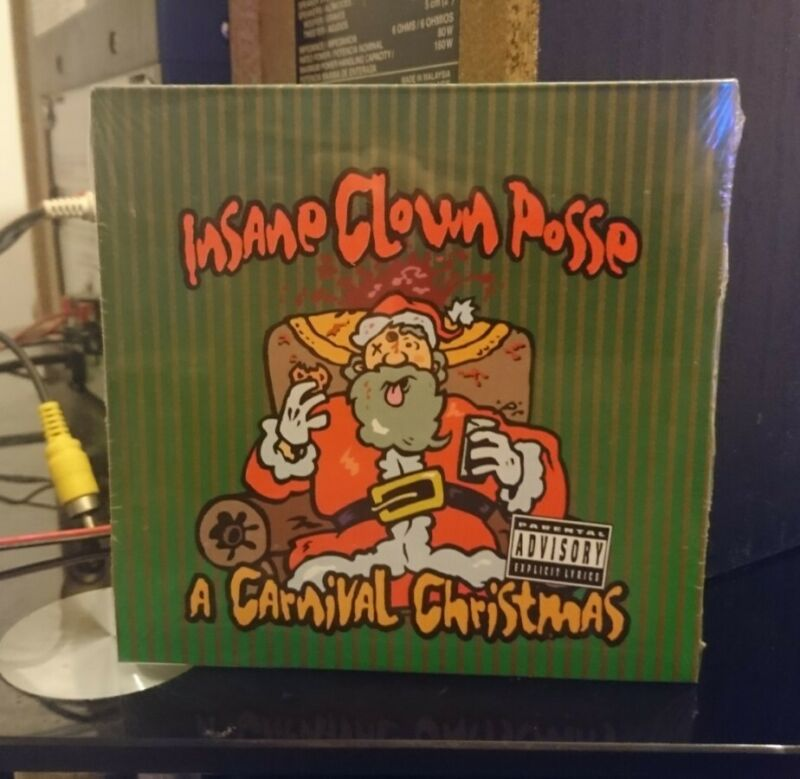 Insane+Clown+Posse+-+A+Carnival+Christmas+CD%2C+New+%26+Sealed%2C+Psychopathic+Records