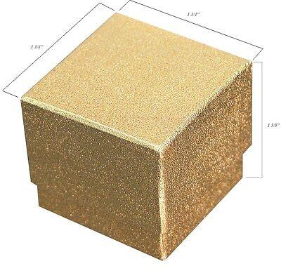 Lot Of 100 Gold Ring Box Jewelry Gift Box Showcase Display Hat Ring Box Bulk Box