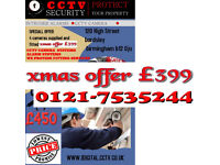HD cctv camera system with warranty supplied and fitted