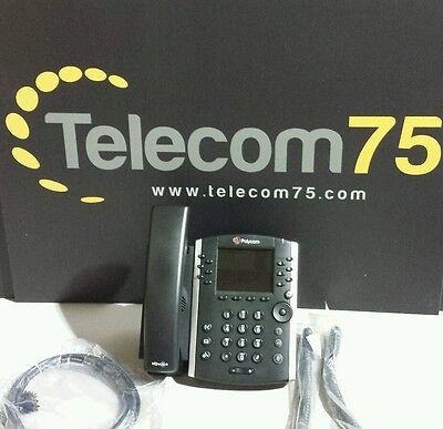 Lot Of 5 Polycom Vvx 400 Phones Part 2201-46104-001