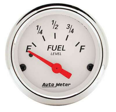 Auto Meter 2-1/16 A/W Fuel Gauge 0-30 ohms