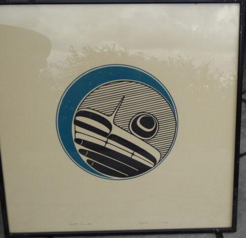 Northwest Coast Haida Artist Robert Davidson Moon LEP Native Art