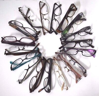 New Assorted Eyeglasses Frame Prescription Branded Eyewear Wholesale 12pcs Lot