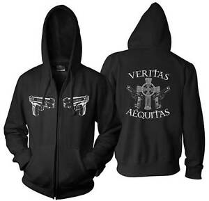 VERITAS-IRISH-BOONDOCK-HOODED-SWEAT-T-TEE-SHIRT-SAINTS-ST-PATTYS-DAY-ZIP-HOODIE