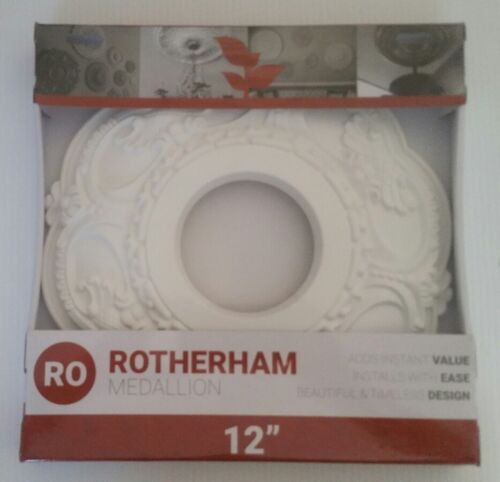 rotherham 12 light fixture ceiling medallion new