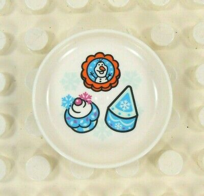 Lego Duplo Item Desert Plate (Olaf - Frozen)