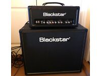 Blackstar HT5 Valve head Amp and Blackstar 5w 1x12 Cab. and channel pedal.