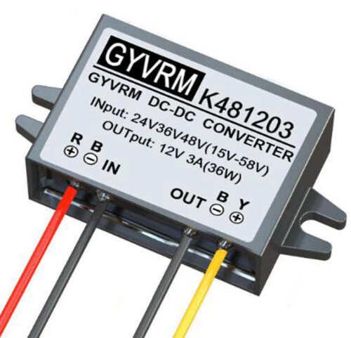 DC-DC Buck Converter Step-Down Power Supply Regulator 24V/36V/48V to 12V M676