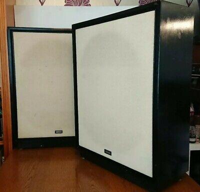 Rare Vintage YAMAHA NS-18 HI-FI/Home Cinema Front Rear Large Stereo Speakers