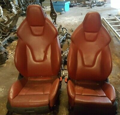 AUDI S5 COUPE FRONT  LEATHER SEATS