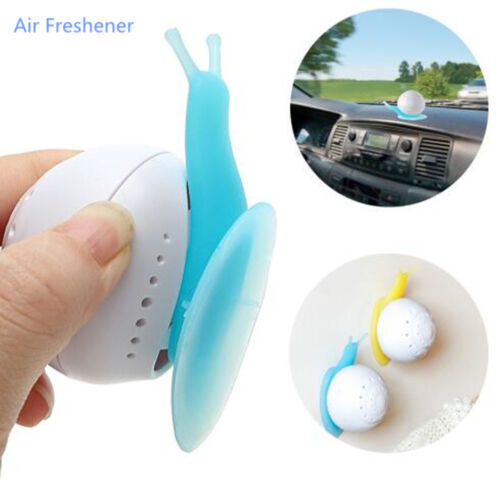 Cute Car Solid Air Freshener Perfume Snail Sucker Cup For Auto Bedroom Bathroom