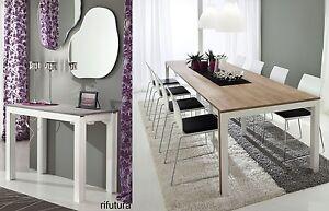 Consolle tavolo allungabile pr mattia 50 311 cm tavolo da - Tavolo 12 persone ...