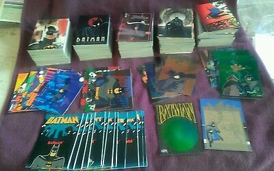Batman Trading Card Sets(5) w/insert Cards