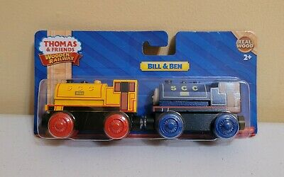 Thomas & Friends Wooden Railway - Bill and Ben Twins Train Engine Locomotive