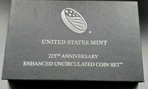 2017 S US MINT Enhanced SMS Special Proof Like BU 10-Coin Set (W/Box & COA) OGP