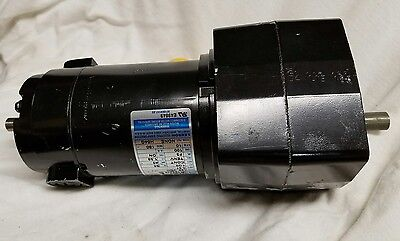Leeson Gearhead 180v  120 Hp Dc Motor 985-670 Amp .31 10 Rpm 12 Shaft New