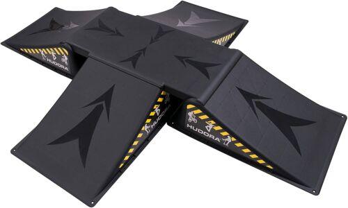 Hudora Skater Ramp Set, 5 pieces, 11118, free shipping Worldwide