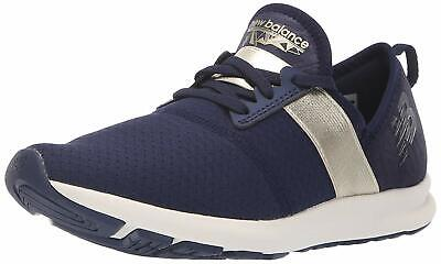 New Balance Womens Nergize V1 Fabric Low Top Lace Up Walking, Pigment, Size -