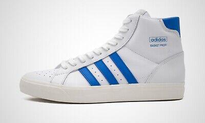 adidas Basket Profi weiß/blau, Herren Sneaker, Art. FW4404, NEU im Karton
