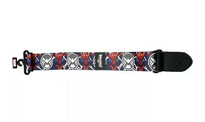 "Peavey Marvel Spiderman Poly 2"" Wide Electric Acoustic Guitar Strap 3019480"