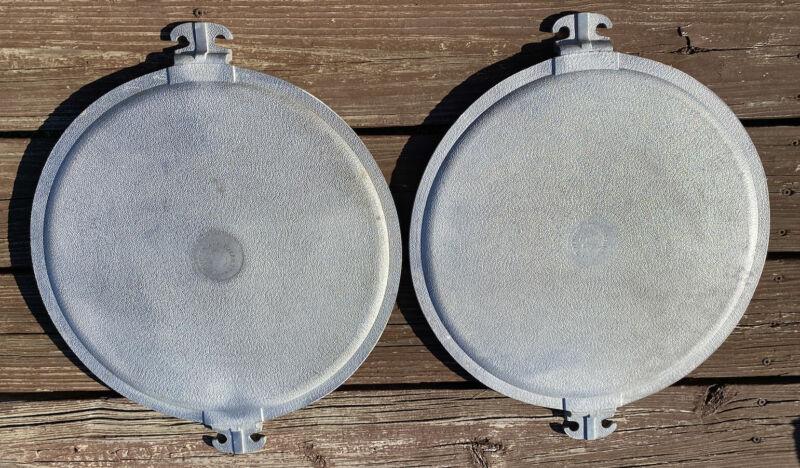 "Vintage Guardian Service Ware 15.5"" Round Serving Pizza Tray Platter Griddle"