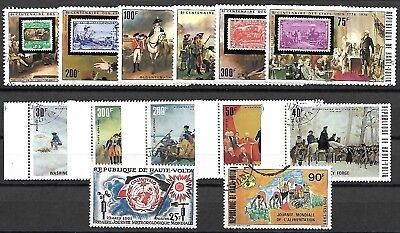 BURKINA FASO LOT / COLLECTION OF 4 SETS