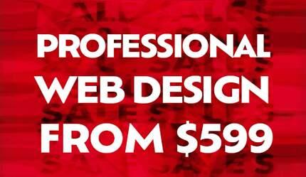 Web Design + Logo Design from $599 ★ ★ ★ ★ ★