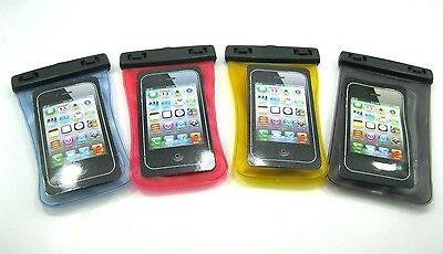 Waterproof Arm Band Bag TPU soft protective cases for iPhone 4 4S 5 5S 5C 6 Lot