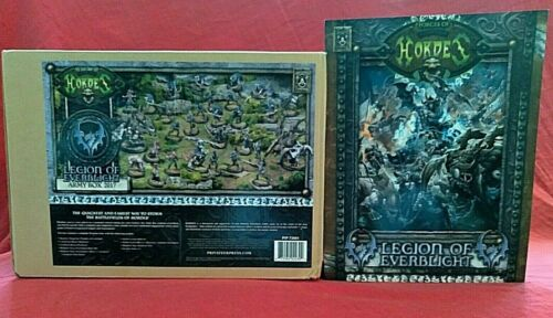 Warmachine Hordes Legion Of Everblight Army Box 2017 New (With Book)