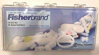 Fisherbrand Assorted Octagonal Magnetic Stir Bar Kit Set Of 16 14-513-82