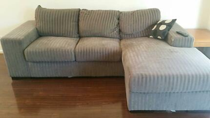 3 seater, 2 seater and foot stool Shepparton 3630 Shepparton City Preview