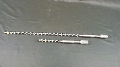 Hitachi Spline Hammer Drill 2-piece Set 22 10 Rotary Bit Brand New